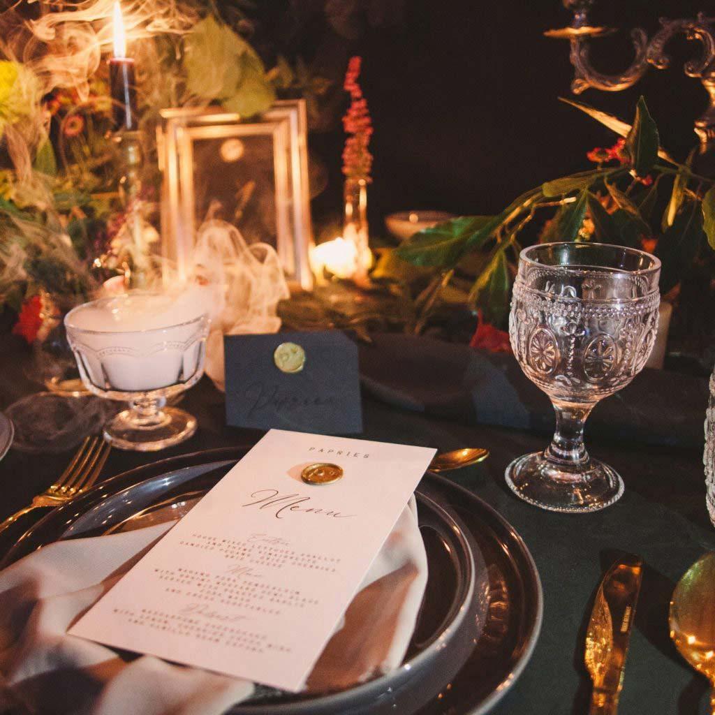 Addobbi Tavola Per Halloween papries e halloween: un matrimonio da paura! - papries